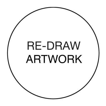 Re-draw Artwork Charge (Personalised) - Add a logo, crest or symbol
