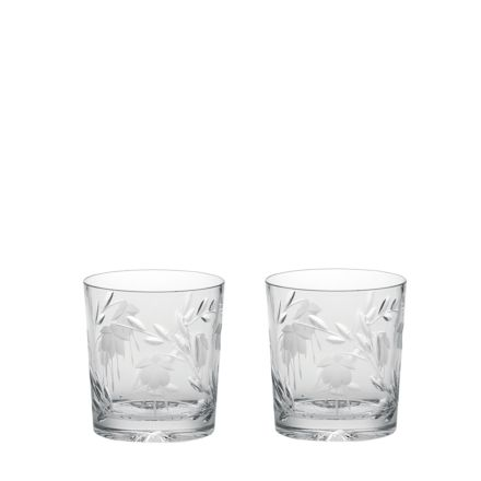 Catherine - 2 Large Large Tumblers 95mm (Gift Boxed) | Royal Scot Crystal