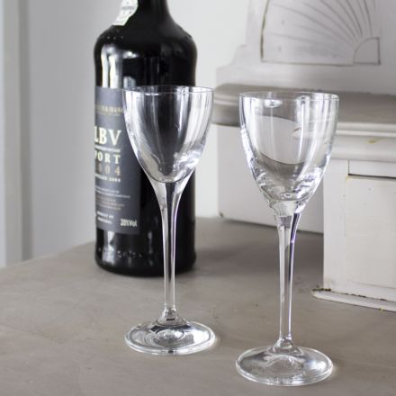Classic Collection - Pair of Port / Sherry Glasses 157mm, 90ml (Gift Boxed) | Royal Scot Crystal