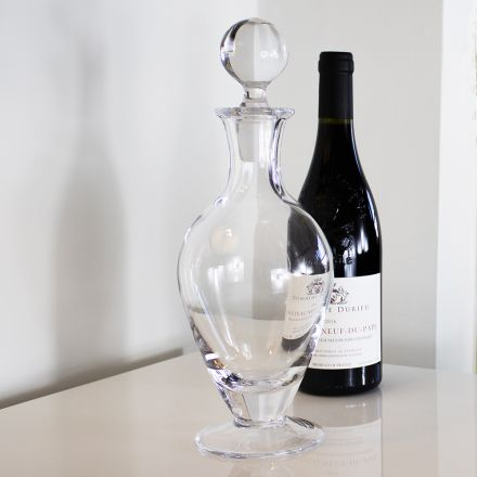 Classic Collection - Crystal Footed Wine/Port Decanter - 310mm (Gift Boxed) | Royal Scot Crystal