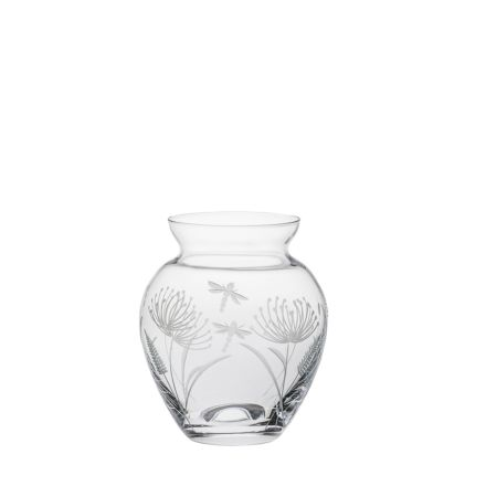 Dragonfly Small Posy Vase (Giftware) - 120mm (Gift Boxed) | Royal Scot Crystal