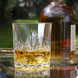 Edinburgh Star - Whisky Tumbler 84mm (Gift Boxed) | Royal Scot Crytal