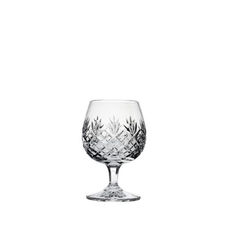 Edinburgh Brandy Glass (single) 132mm (Gift Boxed) | Royal Scot Crystal - New Shape!