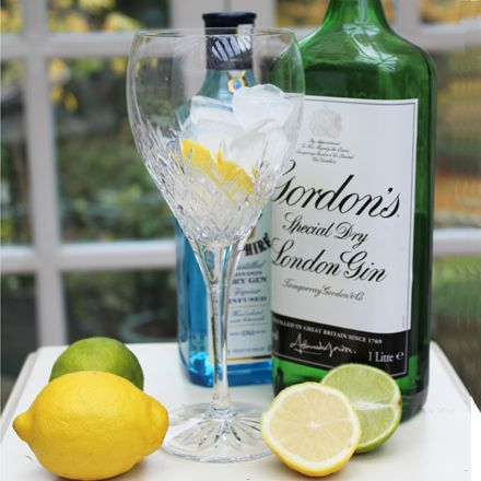 Edinburgh - 2 Gin and Tonic (G&T) Copa Glasses (Gift boxed) - ONLINE EXCLUSIVE