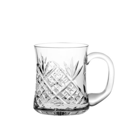 Edinburgh 1 pint Crystal Tankard 1 Pint, (Gift Boxed) | Royal Scot Crystal