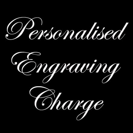 Engraving Charge (Personalised) - Choose your Royal Scot Crystal product and add your personal message