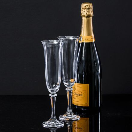 Classic Collection Pair of Prosecco Glasses