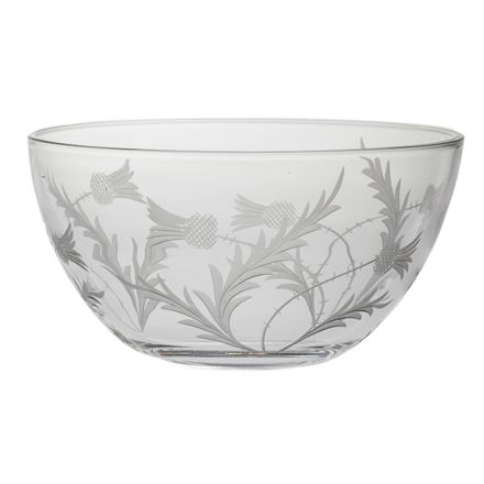 Flower of Scotland (thistle) Fruit/Salad Bowl (Gift Boxed)