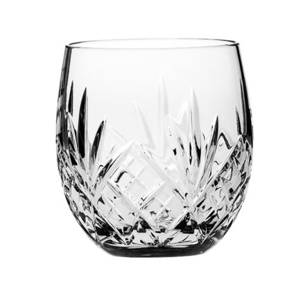 Highland Single Crystal Barrel Whisky Tumbler 85mm (Gift Boxed) | Royal Scot Crystal