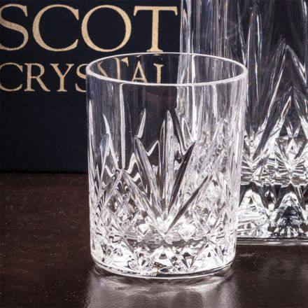 Highland Single Crystal Small Whisky Tumbler 87mm (Gift Boxed) | Royal Scot Crystal
