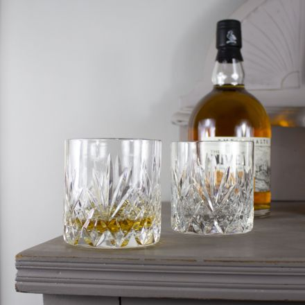 Highland - 2 Old Fashioned Tumblers 84 mm (Presentation Boxed) | Royal Scot Crystal