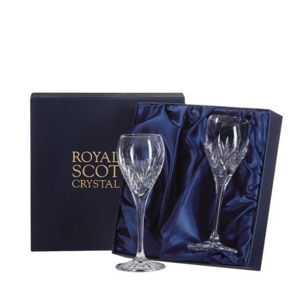 Highland - 2 Crystal Port/Sherry 165mm (Presentation Boxed)
