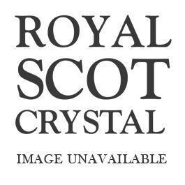 Silver Wedding Anniversary ( 25 ) engraved Highland Small Urn Vase - 120 mm (Gold Gift Box) | Royal Scot Crystal