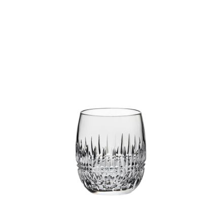 Iona Crystal 1 Gin & Tonic (G&T) Tumblers 12oz (Barrel Shaped) - 95mm (Gift Boxed) | Royal Scot Crystal - New!