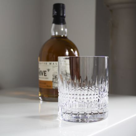 Iona single Large 'on the Rocks' Tumbler 100mm (Gift Boxed) | Royal Scot Crystal