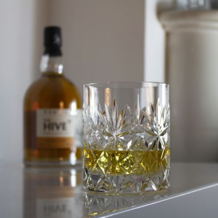 Kintyre - Single Large On the Rocks Tumbler 100 mm (Gift Boxed) | Royal Scot Crystal