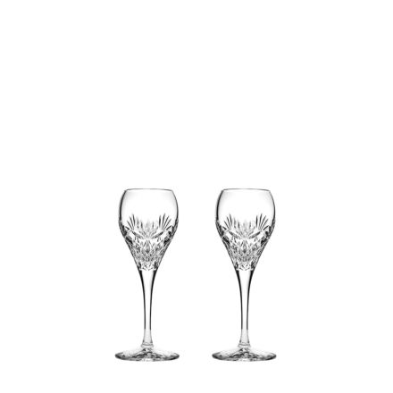 Kintyre 2 Crystal Port / Sherry Glasses  - 165mm (Gift Boxed) | Royal Scot Crystal