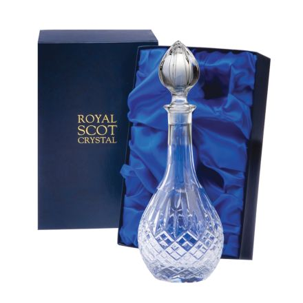 London - Crystal Wine Decanter 330mm (Presentation Boxed) | Royal Scot Crystal