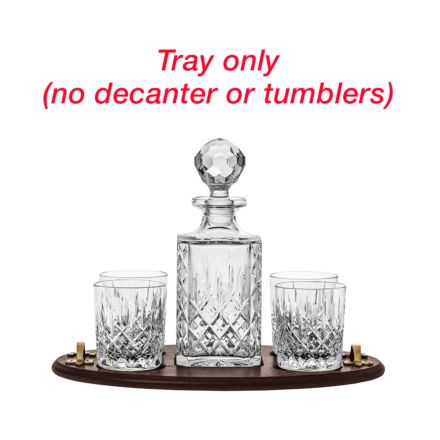 Club Tray Only (no decanter or glasses)