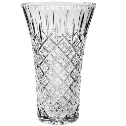 "London Crystal Flared Vase 12"" (Gift Boxed)"