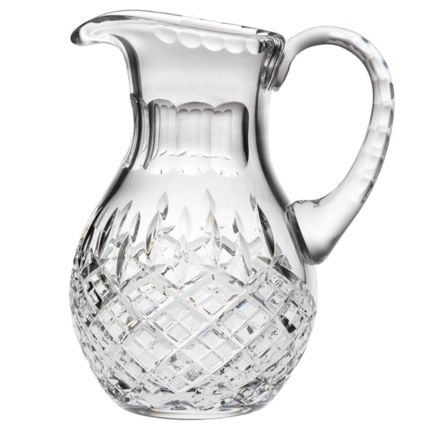 SALE - London Crystal Large Water Jug  215mm (SECONDS QUALITY) | Royal Scot Crystal (BROWN CARD BOX)