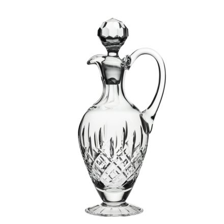 SALE - London - Crystal Handled Wine Decanter - 310mm (BROWN CARD BOX) (SECONDS QUALITY) | Royal Scot Crystal