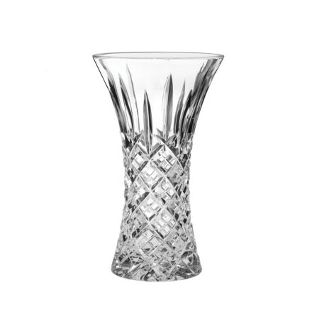 London Large Waisted Vase 230mm (Gift Boxed) | Royal Scot Crystal