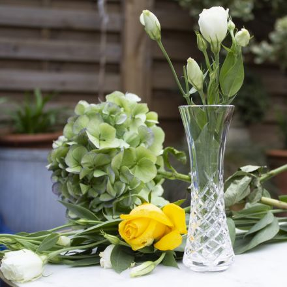 London Small Bud Vase 155mm (Gift Boxed) | Royal Scot Crystal