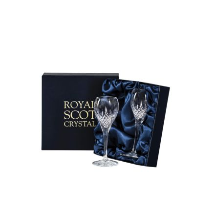 Mayfair -  2 Crystal Port/Sherry Glasses 165mm (Presentation Boxed) | Royal Scot Crystal