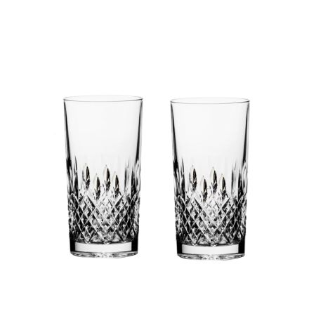 Mayfair 2 Tall Crystal Tumblers 150mm (Gift Boxed) | Royal Scot Crystal