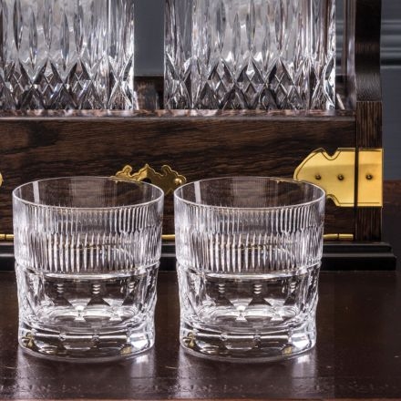 Oxford - 2 Large Tumblers 95mm (Presentation Boxed) | Royal Scot Crystal