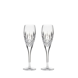 2 FLUTE CHAMPAGNE GLASSES