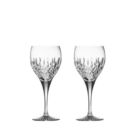 Sandringham - 2 Crystal Wine Glasses 195mm (Gift Boxed) | Royal Scot Crystal
