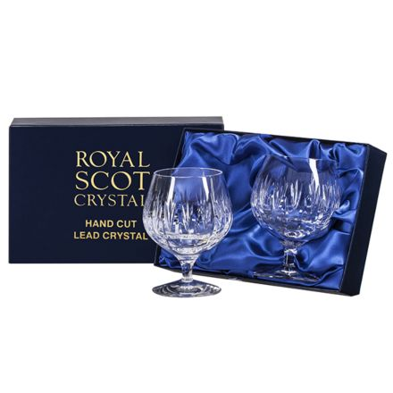 Sapphire - 2 Crystal Brandy Glasses (Presentation Boxed)