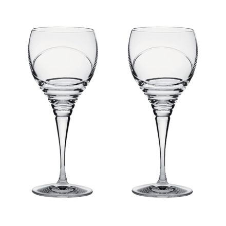 Saturn - 2 Crystal Wine Glasses (Gift Boxed)