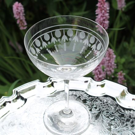 Nouveau - Single Saucer Champagne (Coupe) Glass (Gift Boxed Individually)