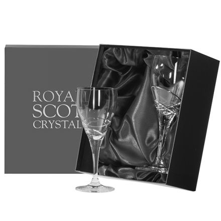 Skye - Box of 2 Large Wine Glasses (Presentation Boxed)