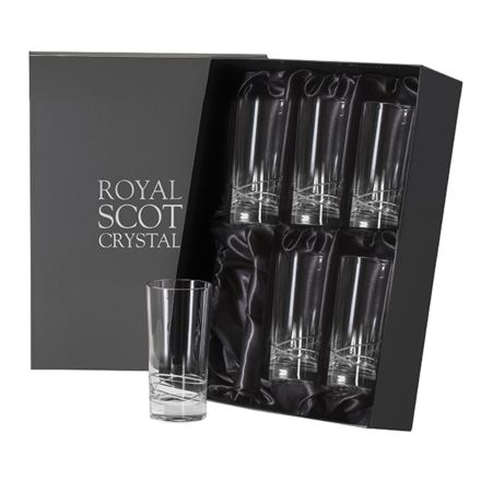 Skye - Box of 6 Tall Tumblers (Presentation Boxed)