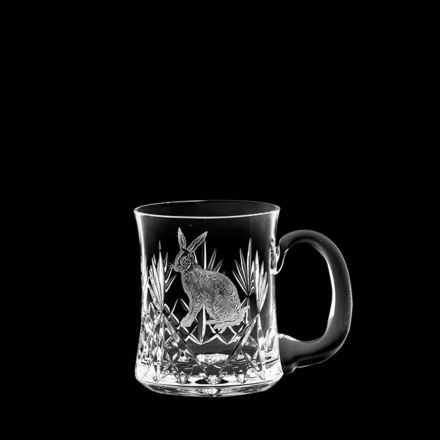 British Wildlife - Kintyre Tankard (1 pint, 56cl) engraved HARE (Gift Boxed)