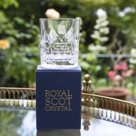 SALE - Royal Baby Kintyre Tot (Shot) Glass (Gift Boxed) -  Archie Harrison Mountbatten-Windsor