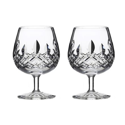 Westminster- 2 Crystal Brandy Glasses (Gift Boxed)