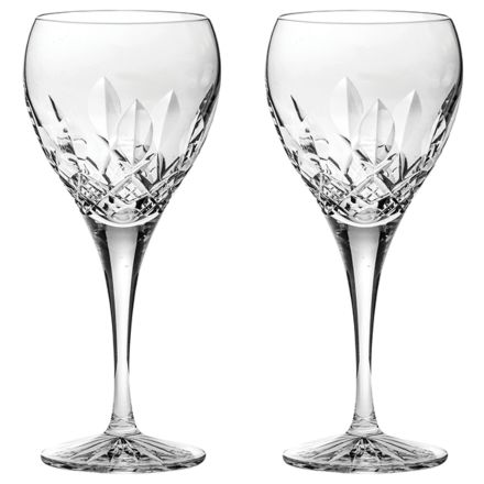 Westminster- 2 Crystal Large Wine Glasses (Gift Boxed)