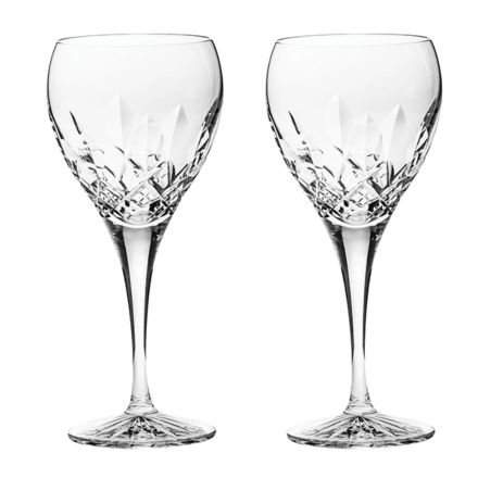 Westminster- 2 Crystal Wine Glasses (Gift Boxed)