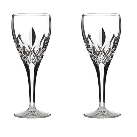 Westminster- 2 Crystal Port / Sherry Glasses (Gift Boxed)