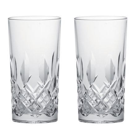 Westminster- 2 Crystal Tall Tumblers (Gift Boxed)
