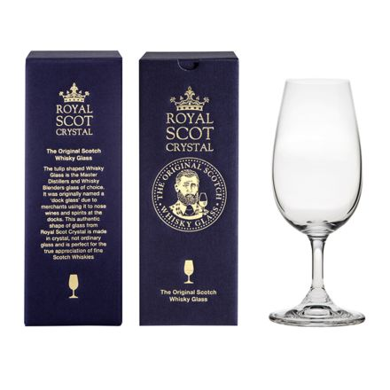 The Original Scotch Whisky Glass (stemmed) (gift boxed)