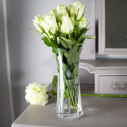 Wild Tulip  Lily Vase - 230mm (Gift Boxed) | Royal Scot Crystal