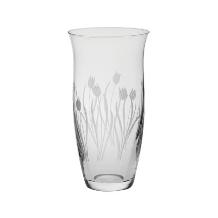 Wild Tulip Large Tulip Vase - 230mm (Gift Boxed) | Royal Scot Crystal