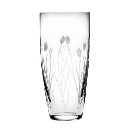 Wild Tulip Tall Vase - 250mm (Gift Boxed) | Royal Scot Crystal